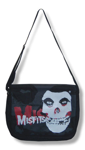 Misfits - Big Face Messenger Bag