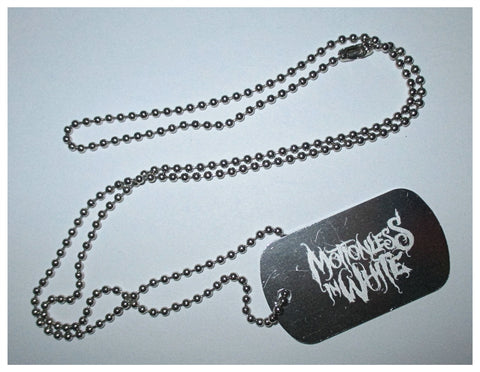 Motionless In White - Dog Tag Necklace