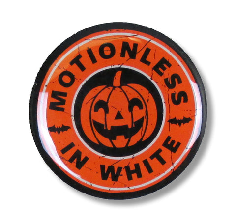 Motionless In White - Pumpkin - Collector's - Lapel Pin Badge