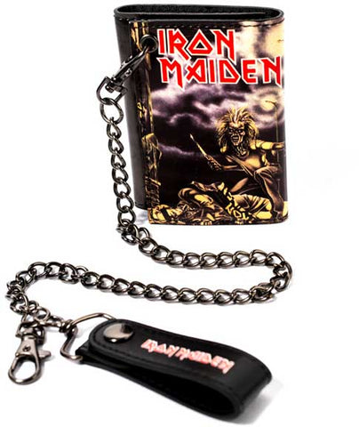 Iron Maiden - Eddie Leather Chain Wallet