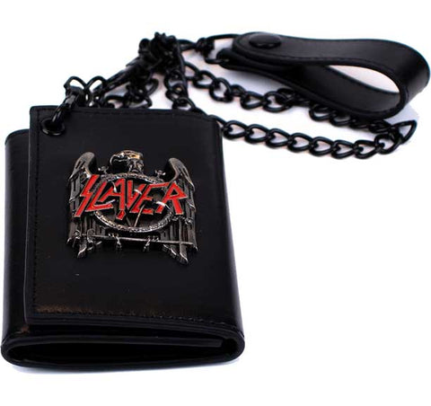 Slayer - Trifold Chain Wallet