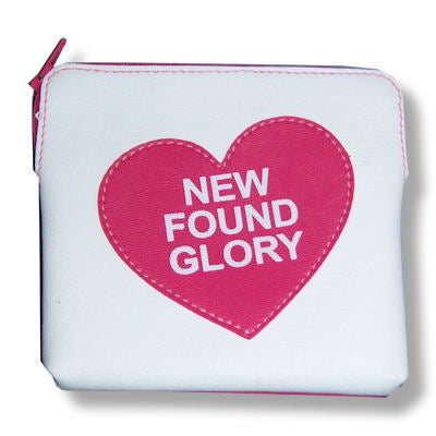 New Found Glory - Heart Cosmetic Wallet