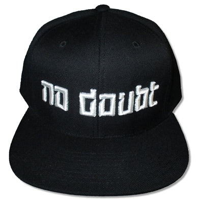 No Doubt - White Logo Adjustable Hat