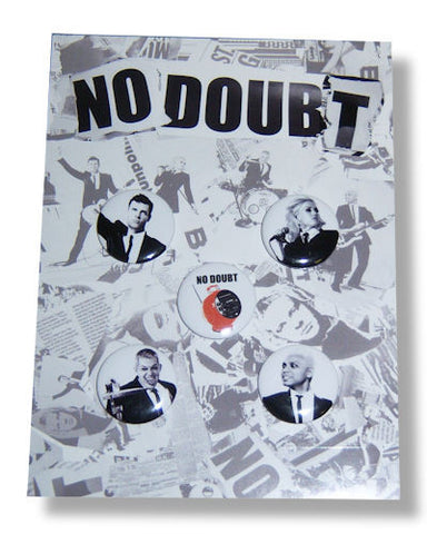 No Doubt - Button Set