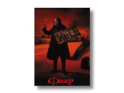 Ozzy Osbourne - Hitch Hiker Post Card