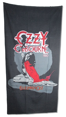 Ozzy Osbourne - Blizzard Of Ozz Beach Towel