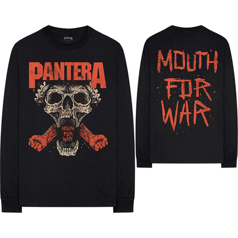 Pantera - Mouth For War - Longsleeve Tee (UK Import)