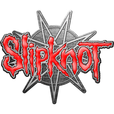 Slipknot - 9 Pointed Star Lapel Pin Badge (UK Import)