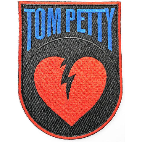 Tom Petty - Embroidered - Heart Break - Collector's Patch (UK Import)