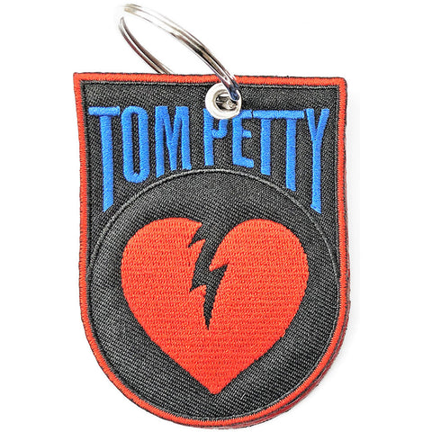 Tom Petty - Embroidered - Heart Break - Collector's Keychain (UK Import)