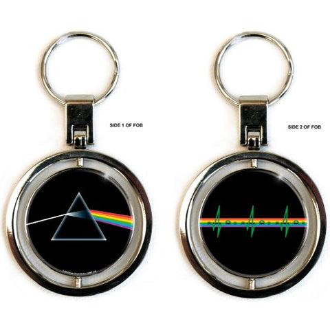 Pink Floyd - Dark Side Of The Moon (Spinner) Keychain (UK Import)