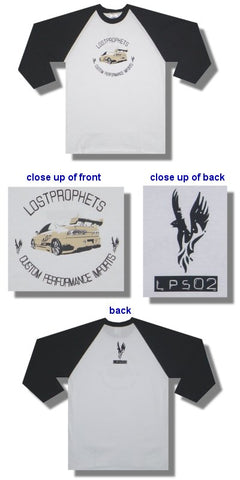 Lost Prophets - Custom Performance Baseball Jersey