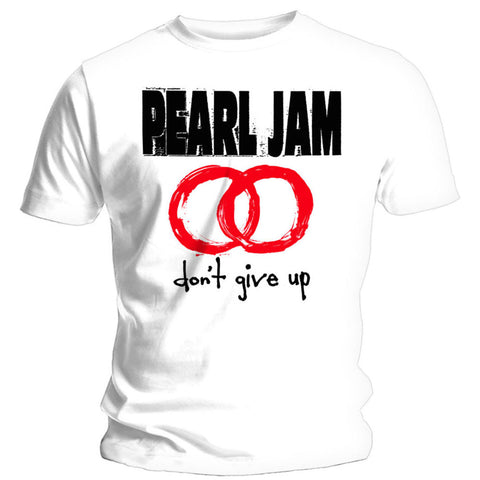 Pearl Jam - White Don't Give Up T-Shirt (UK Import)