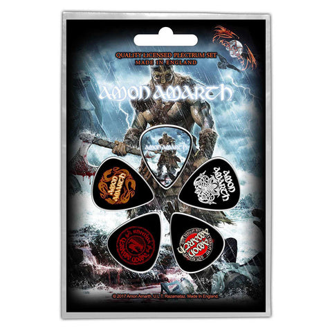 Amon Amarth - Guitar Pick Set - 5 Picks - UK Import - Licensed New In Pack