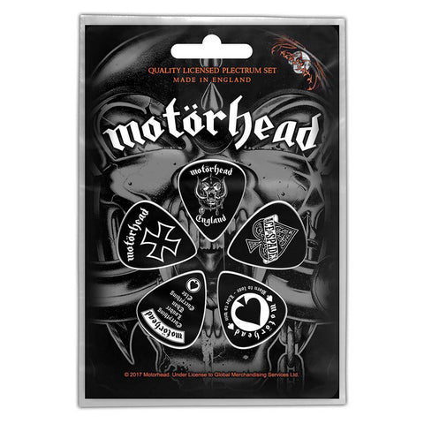 Motorhead - Guitar Pick Set - 5 Picks - UK Import - Licensed New In Pack