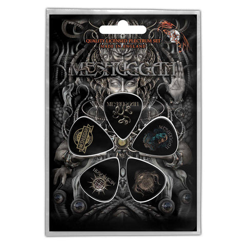 Meshuggah - Guitar Pick Set - 5 Picks - UK Import - Licensed New In Pack