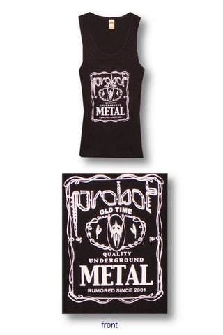 Probot - Underground Metal Juniors Girly Tank Top