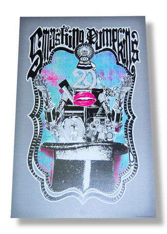 Smashing Pumpkins - 20th Anniversary Concert Rolled - Poster