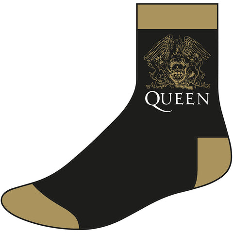 Queen - Logo Ankle - Socks (UK Import)