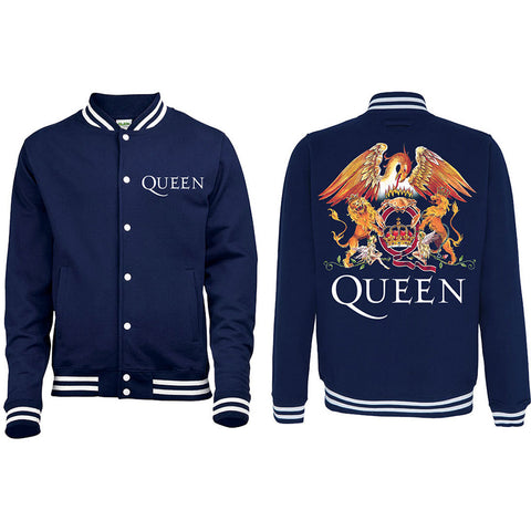 Queen - Crest Varsity Jacket (UK Import)