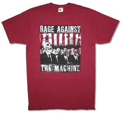 Rage Against The Machine - Skull Man T-Shirt