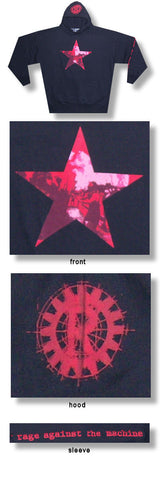 Rage Against The Machine - Red Star Hoodie