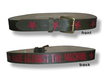 Rage Against The Machine - Stars Belt
