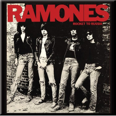 Ramones - Rocket To Russia Fridge Magnet (UK Import)