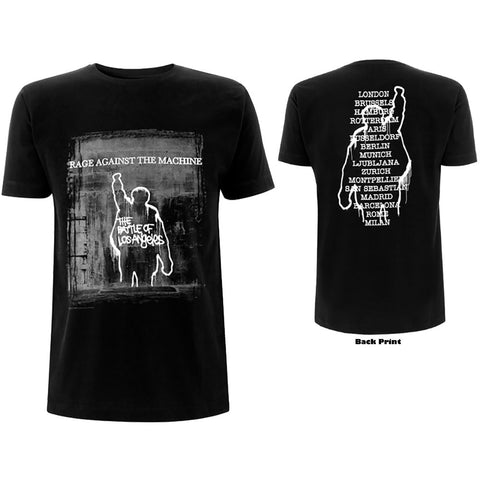 Rage Against The Machine - BOLA Euro Tour T-Shirt (UK Import)