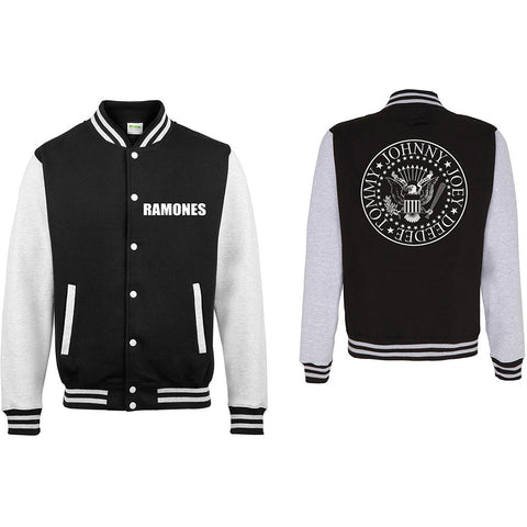 Ramones - Presidential Seal Varsity Jacket (UK Import)