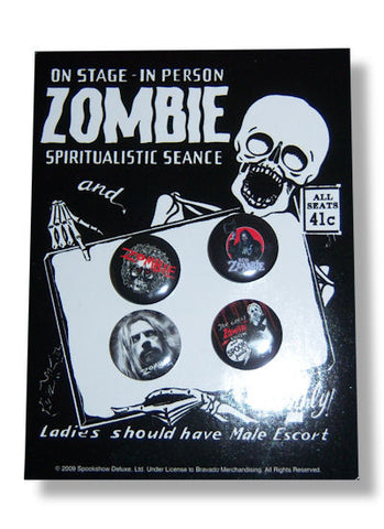 Rob Zombie - Button Set