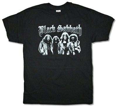 Black Sabbath - Gray Scale T-Shirt