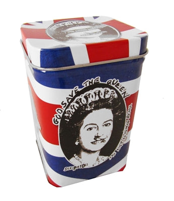 Sex Pistols - God Save The Queen Candle In Tin
