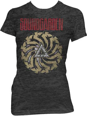 Soundgarden - Bad Motor Juniors Girly Tee