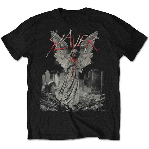 Slayer - Gravestone Walks - T-Shirt (UK Import)