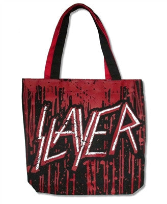 Slayer - Dripping Logo Reversible Tote Bag