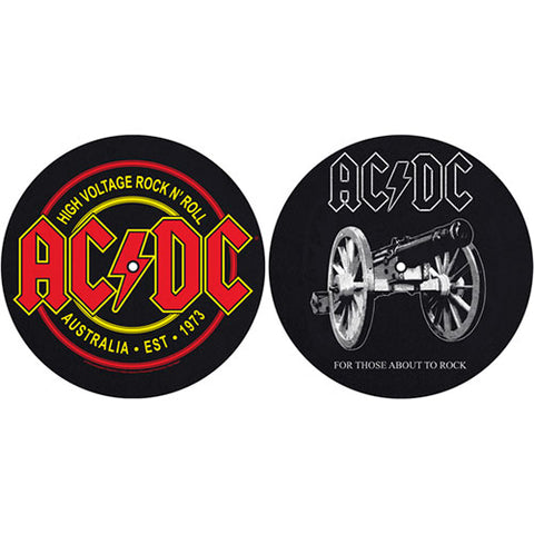 AC/DC - FTATR DJ Turntable Slipmat Set (UK Import)