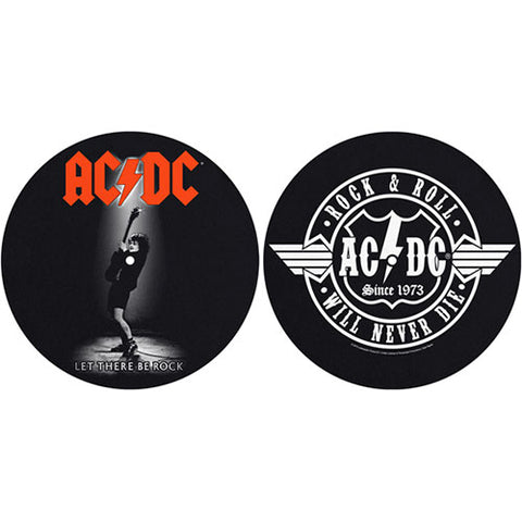 AC/DC - DJ Turntable Slipmat Set (UK Import)