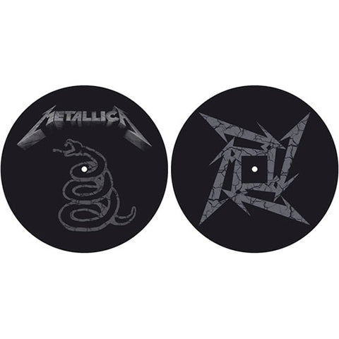 Metallica - Black Album DJ Turntable Slipmat Set (UK Import)