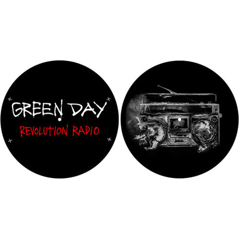 Green Day - DJ Turntable Slipmat Set (UK Import)