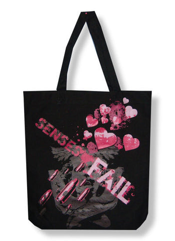 Senses Fail - Hearts Tote Bag
