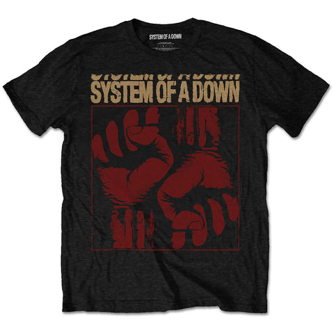 System Of A Down - Fisticuffs T-Shirt (UK Import)