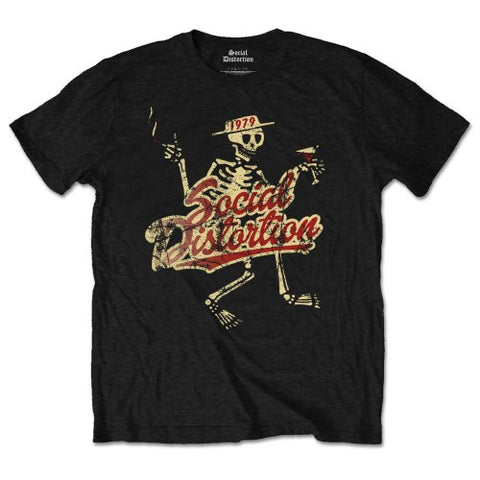 Social Distortion - Vintage 1979 T-Shirt (UK Import)