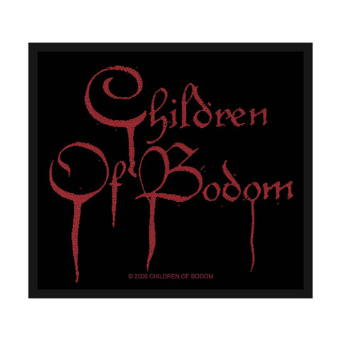Children Of Bodom - Logo Patch - Woven (UK Import)