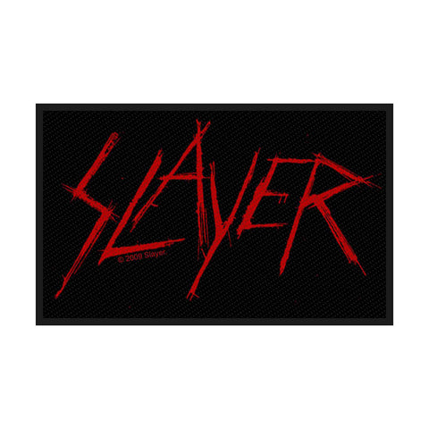 Slayer - Patch - Woven - UK Import - Scratched Logo - Collector's Patch