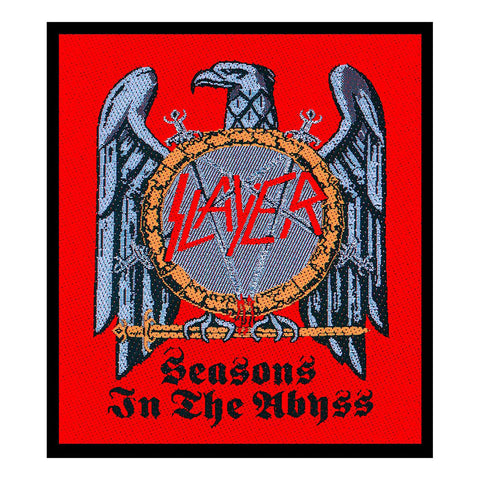 Slayer - Patch - Woven - UK Import - Seasons In The Abyss - Collector's Patch