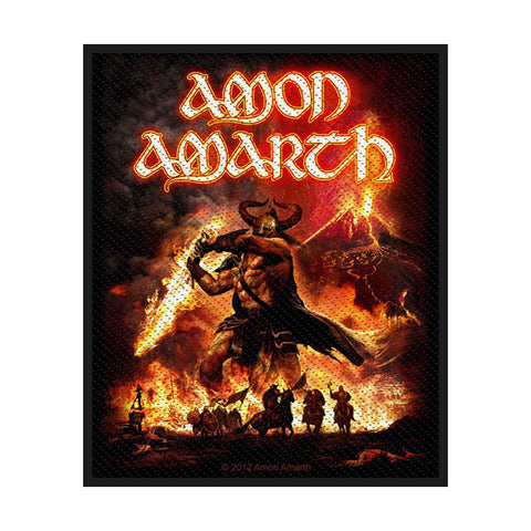 Amon Amarth - Patch - Woven - UK Import - Surtur Rising - Collector's Patch