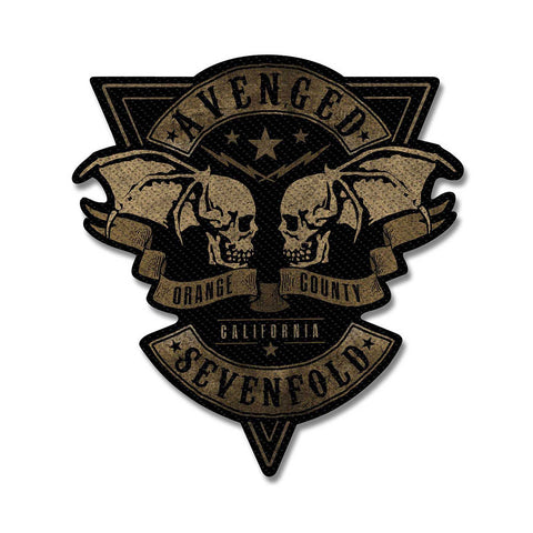 Avenged Sevenfold - Patch - Woven - UK Import - OC Cut-Out - Collector's Patch