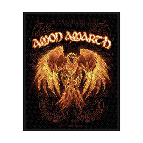 Amon Amarth - Patch - Woven - UK Import - Phoenix - Collector's Patch
