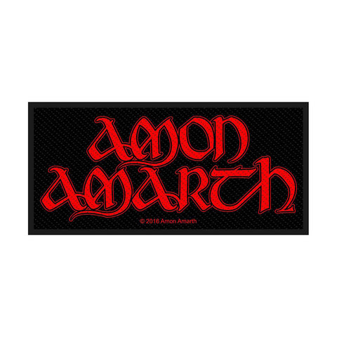 Amon Amarth - Patch - Woven - UK Import - Logo - Collector's Patch
